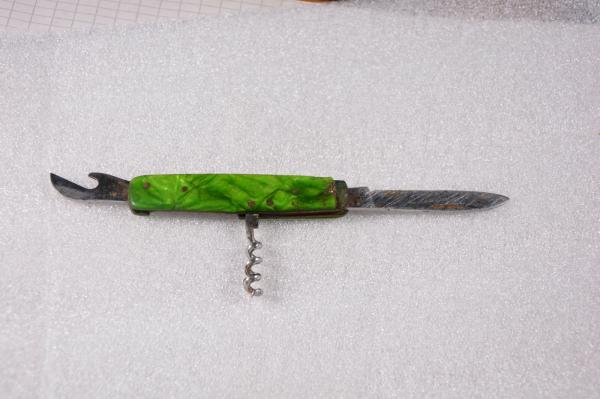 складной нож (XX в.) 14 07