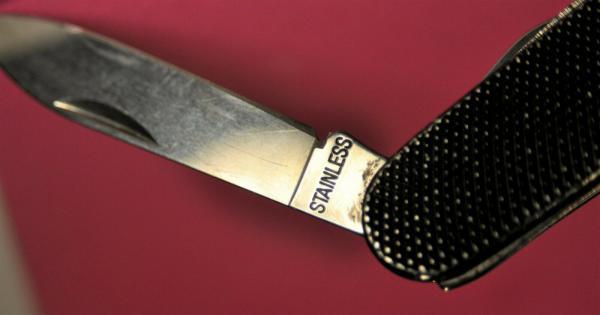 складной нож (XX в.) 20 10