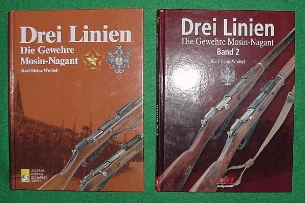 Karl Heinz Wrobel. Drei Linien. Die Gewehre Mosin Nagant