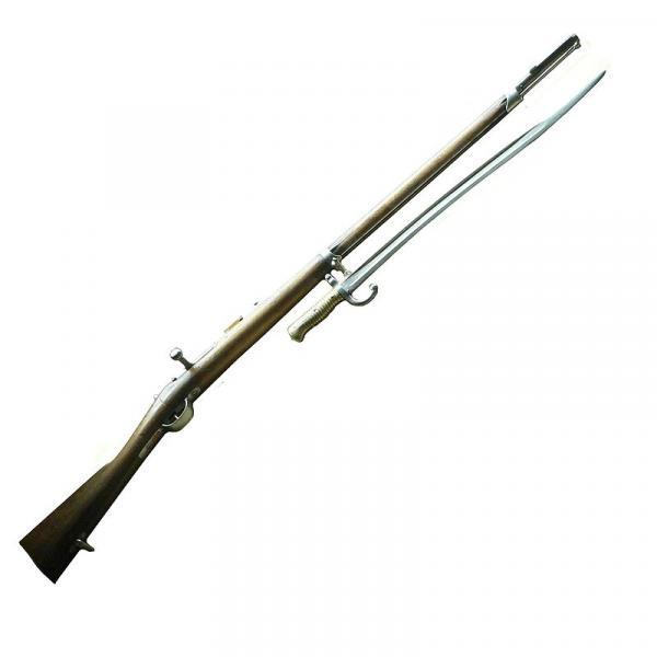 Шасспо обр. 1866 года (Fusil modèle 1866) и штык к ней 03