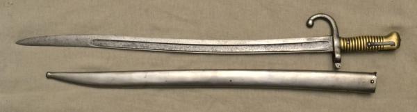 05 Штык французский обр. 1866 года к винтовке Шасспо обр. 1866 года 05