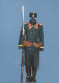 и вооружение болгарского ополченца времён русско турецкой войны 1877 1878 годов (01)