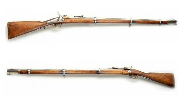 6 линейная однозарядная передельная винтовка системы Крнка 02