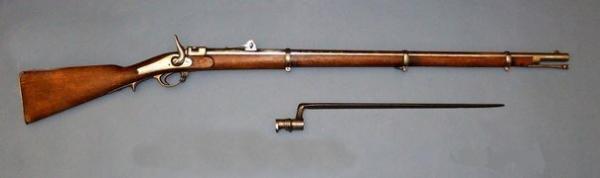 винтовка Крнка и трёхгранный игольчатый штык к ней 01