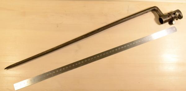 игольчатый трёхгранный от русской винтовки системы Крнка 01