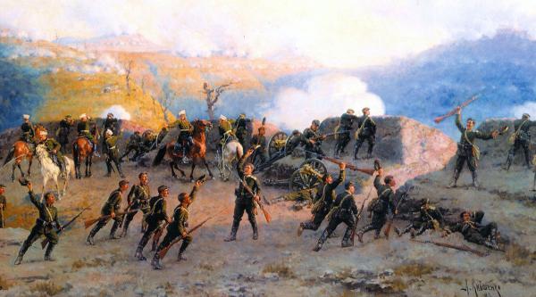 на Шипкинском перевале 11 августа 1877 года» (1893), Алексей Кившенко