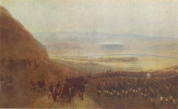 .Ф. Лагорио (1827 1905)   Взятие Ловчи (Ловеч) 22 августа 1877 года. 1891