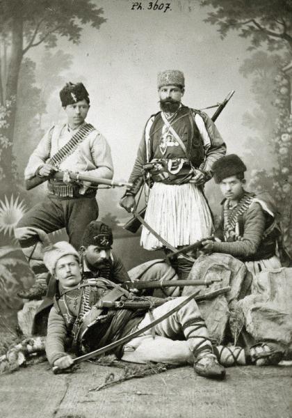 добровольцы. Сербско болгарская война. 1885 год (01)