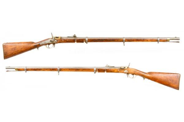 Russian M1856 67 Krnka Rifle 00