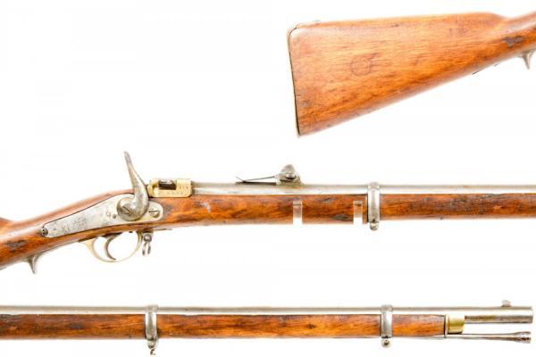 Russian M1856 67 Krnka Rifle 04