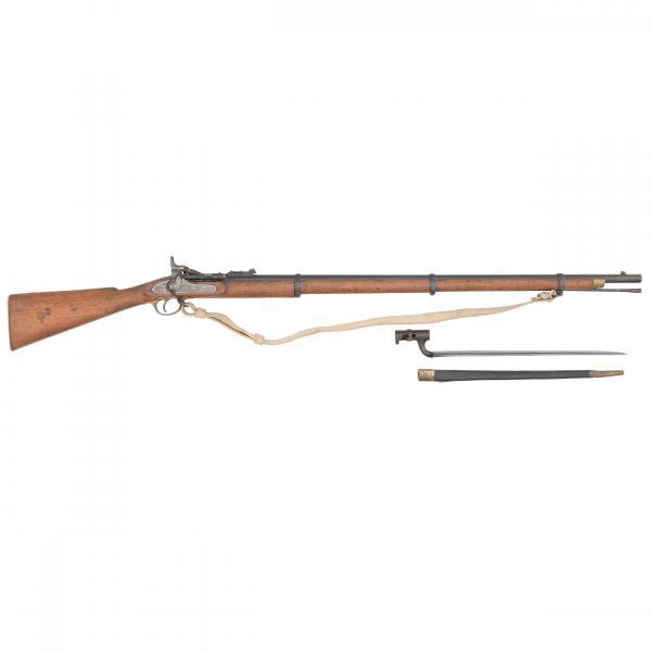 переделочная винтовка Энфилд Снайдер и штык к ней 02