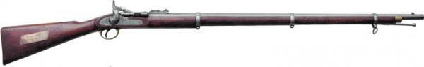 системы Снайдера обр. 1864 г. Этот экземпляр, ныне хранящийся в ВИМАИВиВС, состоял на вооружении турецкой армии 01