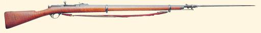 винтовка Бердана № 2 с примкнутым игольчатым штыком 01