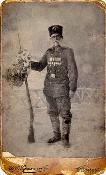 Корчев, опълченец от 3 та рота на 3 та опълченска дружина