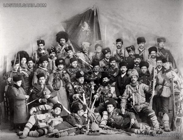 чета   формирана на 5 срещу 6 септември 1885 г. в квартал Мараша в Пловдив. Командвана от Тодор Гатев. Пловдив, 1885 г.