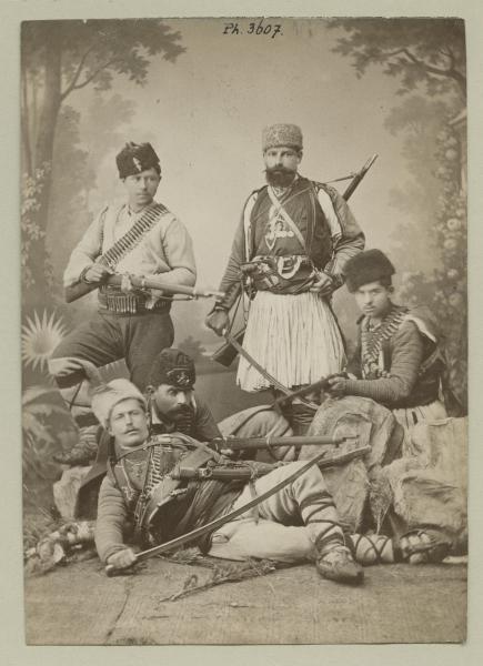 добровольцы. Сербско болгарская война. 1885 год (02)