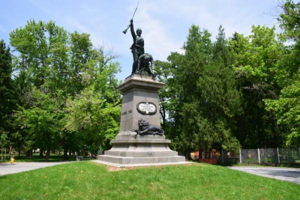 Monument for Serbian Bulgarian War, Pleven 02