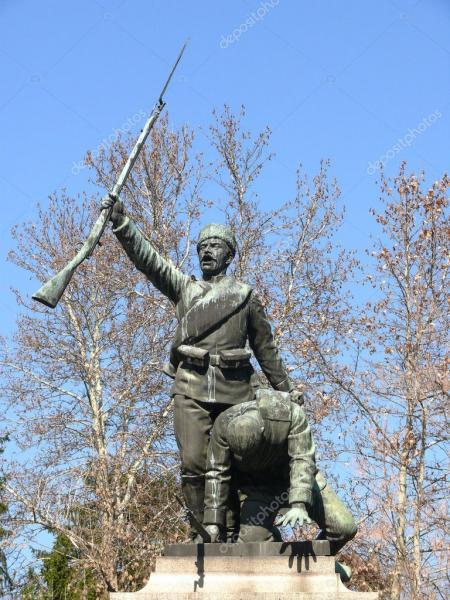 Monument for Serbian Bulgarian War, Pleven 03