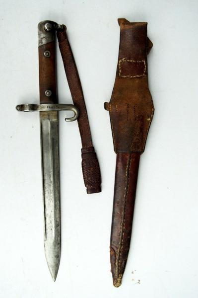 нож унтер офицерский к винтовке Манлихера (Болгария) 02 — копия