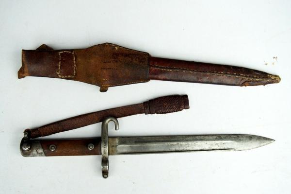 нож унтер офицерский к винтовке Манлихера (Болгария) 02