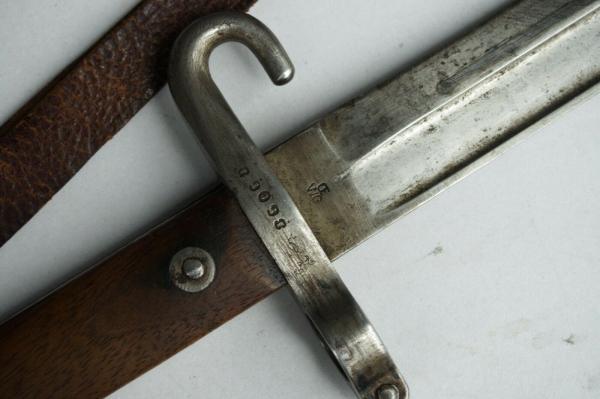 нож унтер офицерский к винтовке Манлихера (Болгария) 06