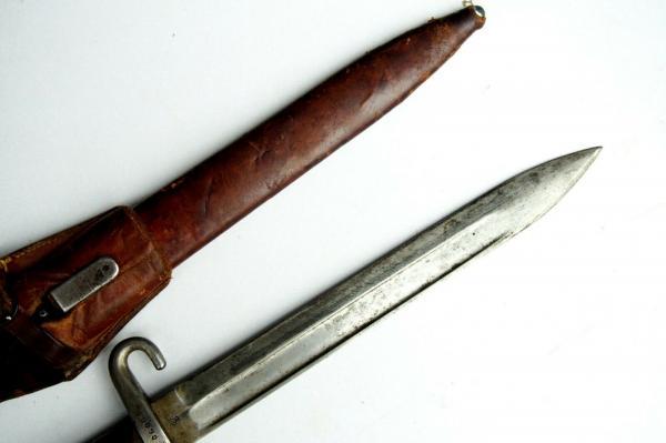 нож унтер офицерский к винтовке Манлихера (Болгария) 08