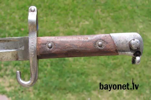 нож унтер офицерский обр. 1888 года к винтовке Манлихера (Болгария) 12