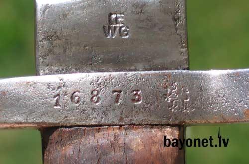 нож унтер офицерский обр. 1888 года к винтовке Манлихера (Болгария) 13