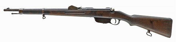 венгерская морская укороченная винтовка Манлихера обр. 1890 года (Steyr Mannlicher M1890 Navy Short Rifle) 01