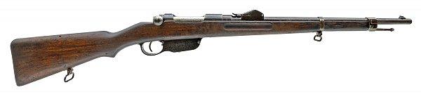венгерская морская укороченная винтовка Манлихера обр. 1890 года (Steyr Mannlicher M1890 Navy Short Rifle) 02