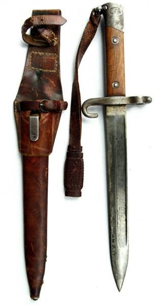 нож унтер офицерский к винтовке Манлихера (Болгария) 01