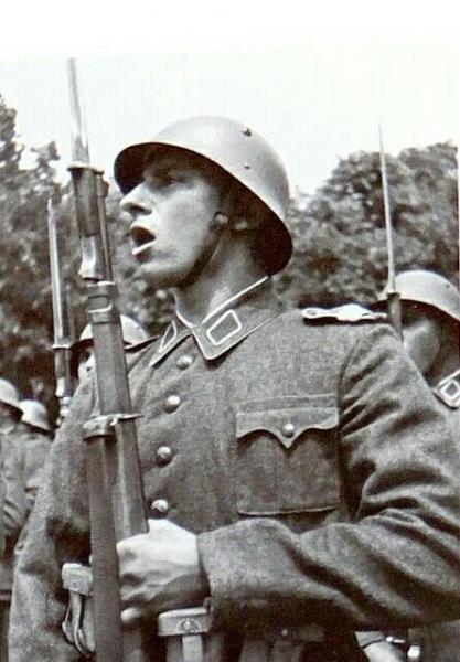Bulgarian Army infantryman, WWII era