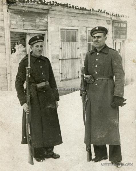 пост на граничен пункт №4   Царево (18.02.1942)
