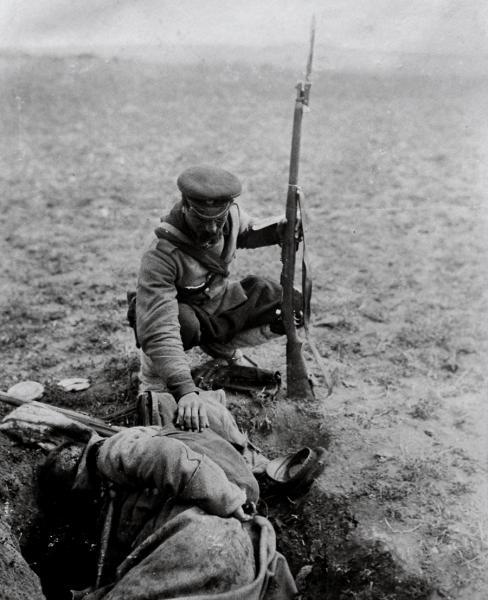 солдат с винтовкой Манлихера М1895 (ПМВ) 01