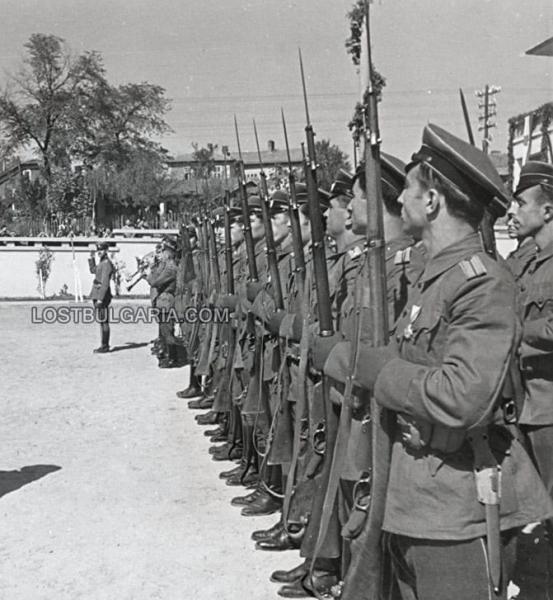 болгарских военнослужащих с винтовками Манлихера (1945 год) 01