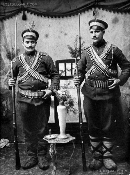 , войници от Осми приморски полк, ноември 1912 г.