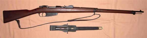 винтовка Каркано обр. 1891 года и штык обр. 1891 года 01