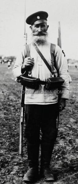 войник   опълченец, доброволец в Първата световна война (ПМВ) 02