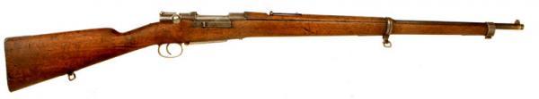 7,65 мм турецкая винтовка системы Маузера обр. 1893 года 01