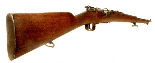 7,65 мм турецкая винтовка системы Маузера обр. 1893 года 03