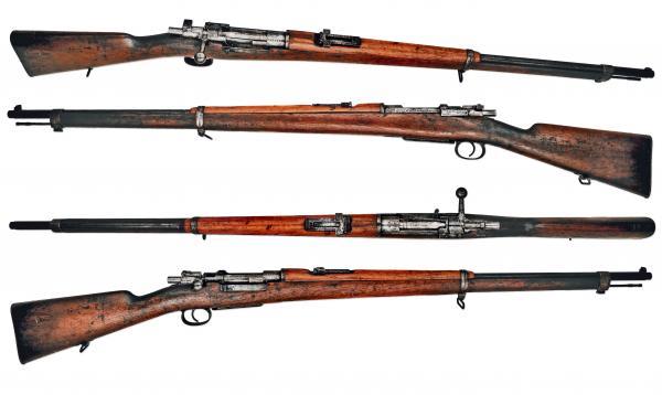 7,65 мм турецкая винтовка системы Маузера обр. 1893 года 00