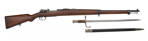 7,65 мм турецкая винтовка Маузера обр. 1903 года 02