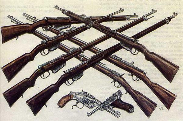 , карабины, револьверы и пистолеты болгарской армии в 1878 1918 годах 01