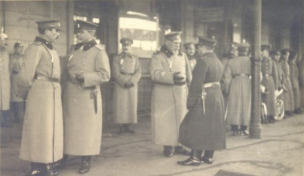 General Nikola Zhekov and General Georgi Todorov, 1916