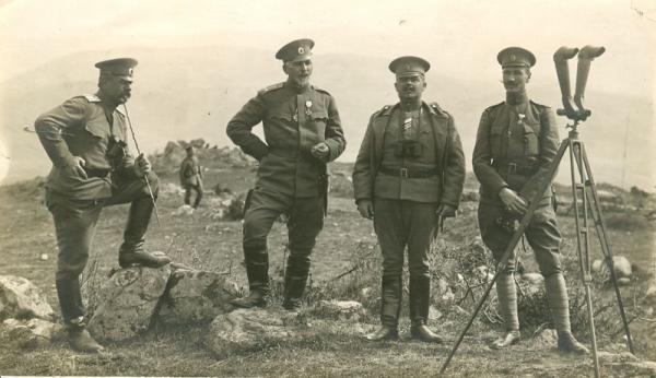 Vladimir Vazov at Furka 20 February 1917