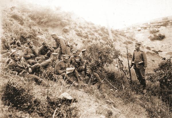 военнослужащие. ПМВ, 1917 год 01