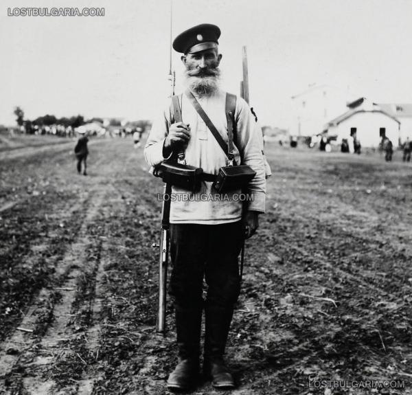 войник   опълченец, доброволец в Първата световна война (ПМВ) 01