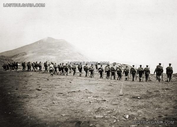 на 7 ма пехотна Рилска дивизия за Демир Хисар   Серес, 1916 г.