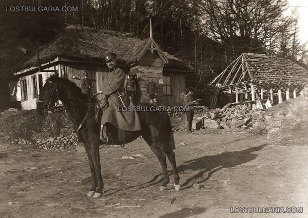11 й Македонской пехотной дивизии со штыком на коне. ПМВ (01)