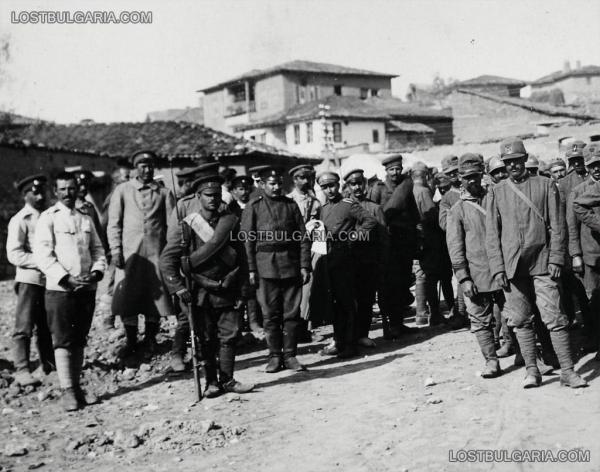 италиански войници при Горни и Долни Порой. ПМВ 01
